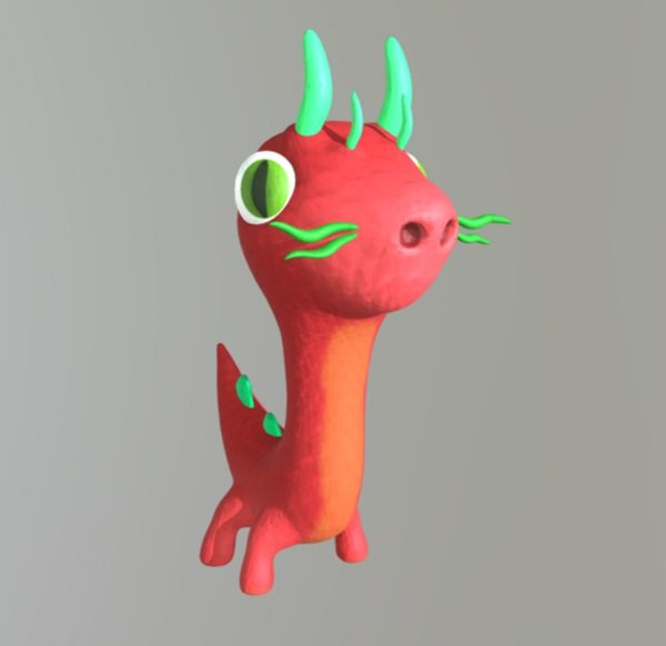 dragon toon 3D