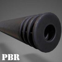 3D rifle suppressor muzzle break