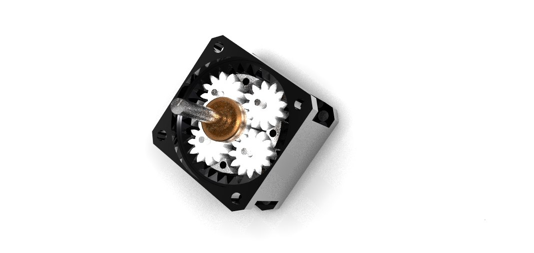 Planetary gear for step motor Nema 23 CNC