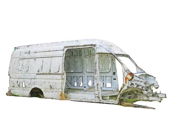 truck wreck 16k 3D