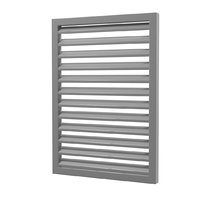 louver window model