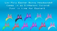 easter bunny headbands 3D model