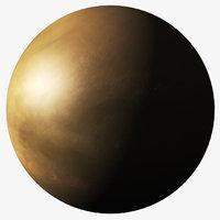realistic venus planet 3D model