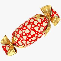 candy style gift 3D model
