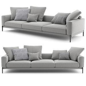 3D flexform sofa romeo