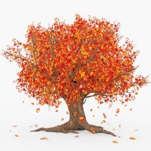 falling tree 3D model
