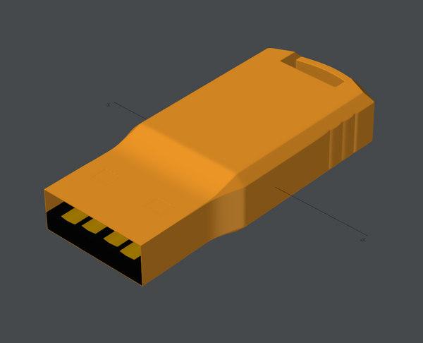 3D usb memory