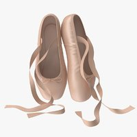 Ballet Shoes Resting