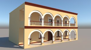 mexican house 2 faces model