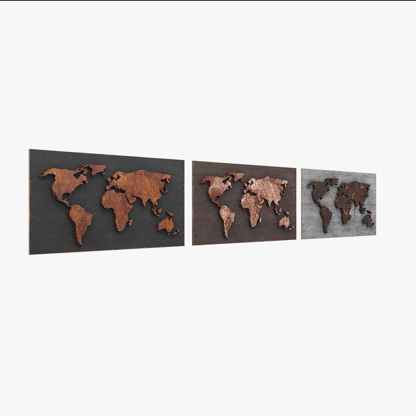 3D world worldmap model