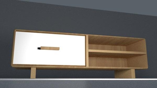 simple ikea tv 3D model