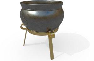 table cauldron 3D model