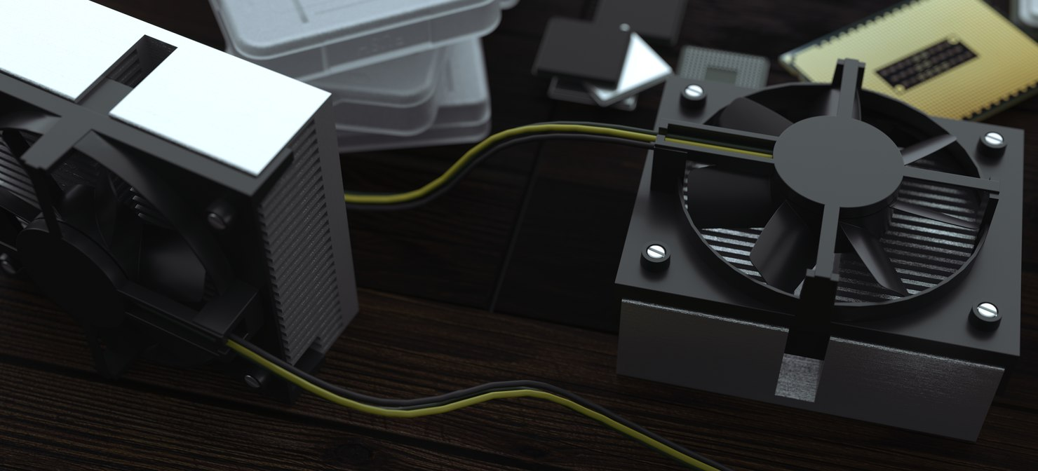 things computers 2019 3D model