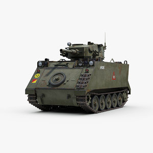 3D model m113a1 support vehicle