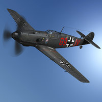 messerschmitt - bf-109 g9-jv model