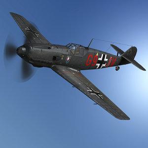 messerschmitt - bf-109 g9-jv model