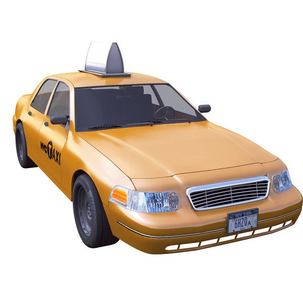 3D nyc taxi