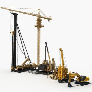 construction machinery 2 3D