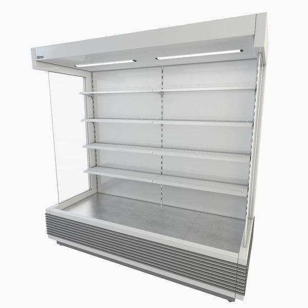 supermarket freezer model