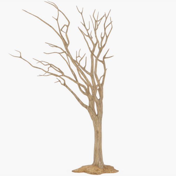 tree halloween 3D model