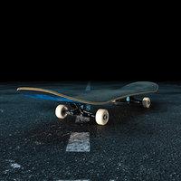 3D board skate skateboard