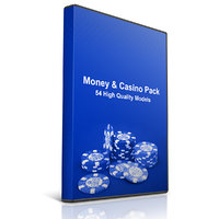 pack money casino 3D model