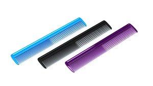 3D hairbrush brush hair model