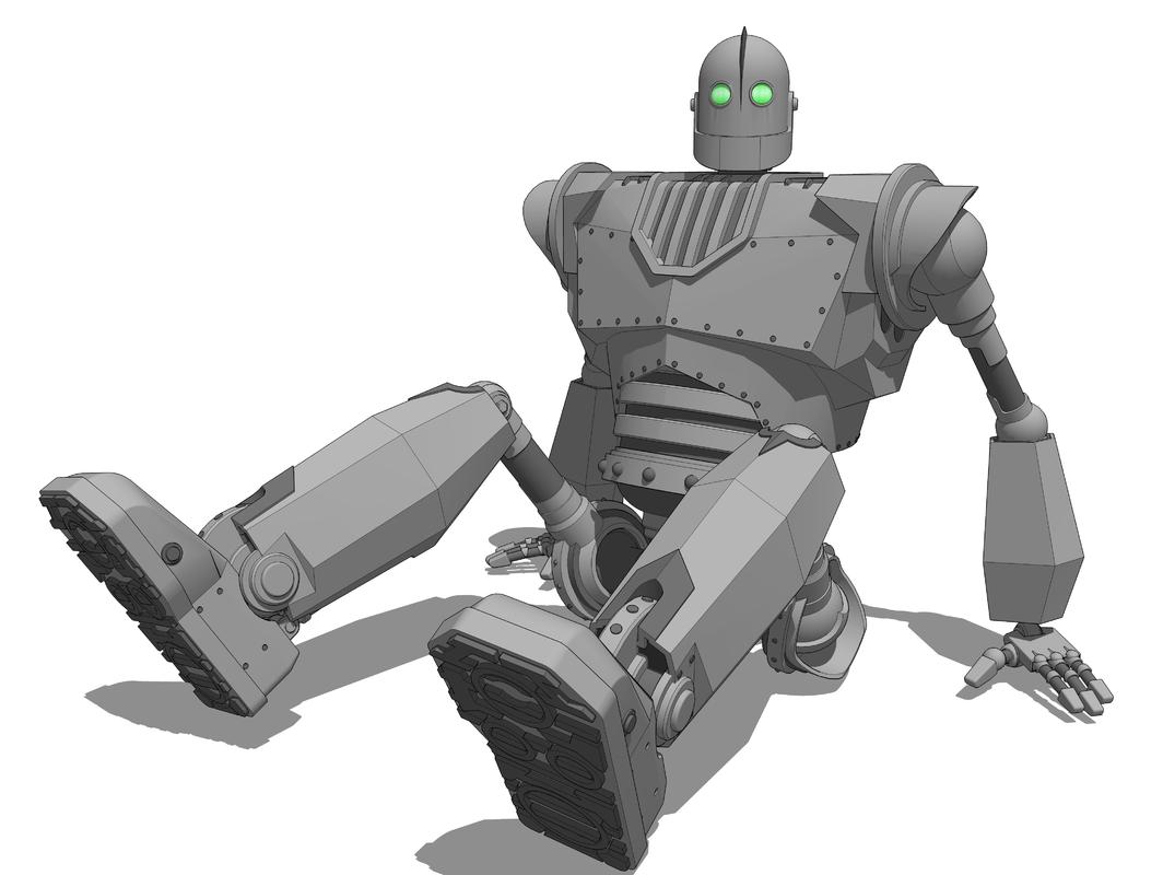 3D mech mecha