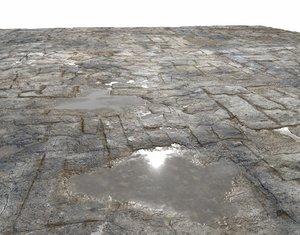 Old Floor Seamless PBR Texture