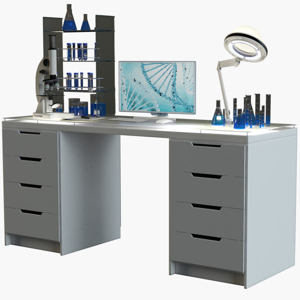 3D laboratory workplace