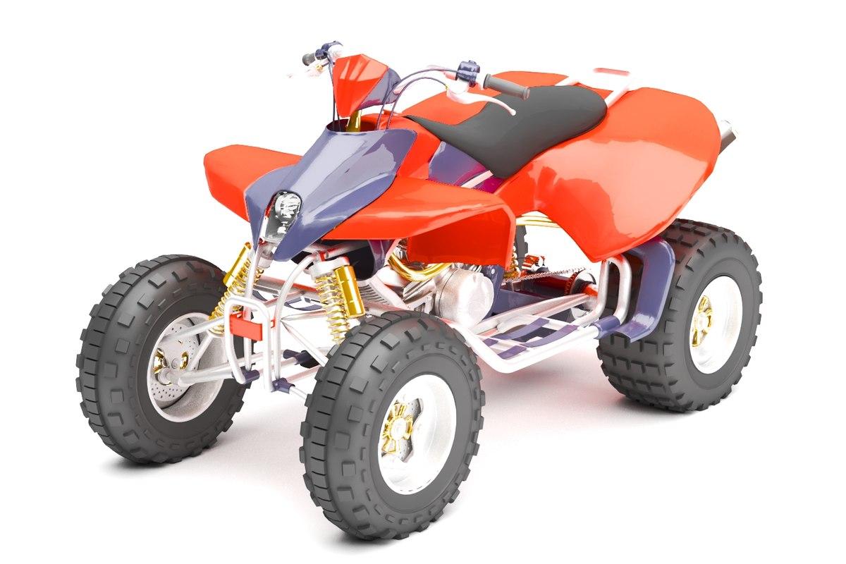 beach buggy 3D model