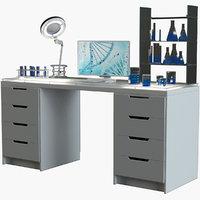 laboratory workplace model