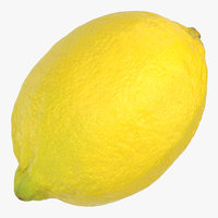 3D lemon 01