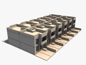 townhouse house 2 model