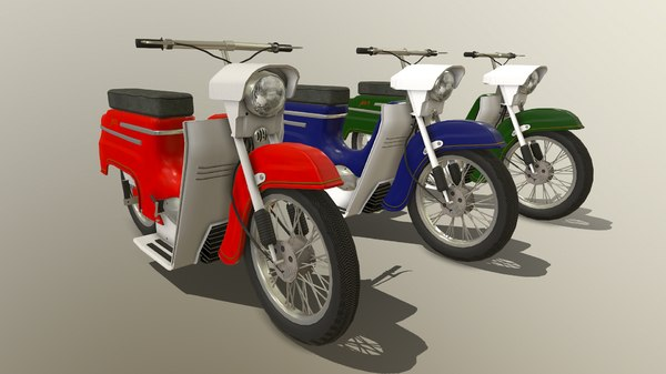 3D gameready motorcycle 05