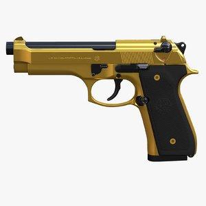 beretta m9 gold - model