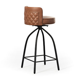3D seat counter stool model