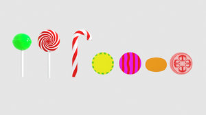 3D candies