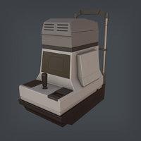keratometer ophthalmometer 3D model