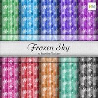 Frozen Sky Seamless Textures