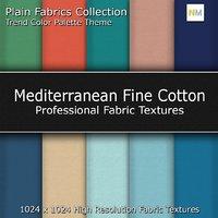 Mediterranean Color Palette Fine Seamless Fabric Textures