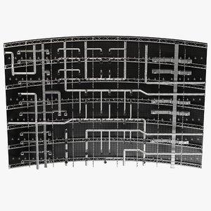 ceiling ventilation 36 3D
