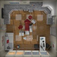 3D model interior dental room