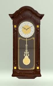 wallclock wall pendulum clock model