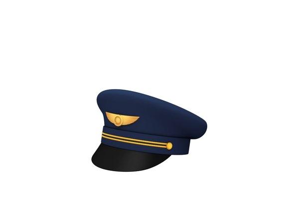 pilot hat model