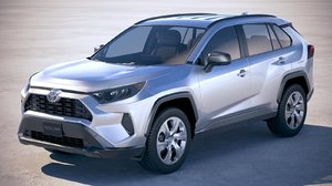 3D model toyota rav4 le
