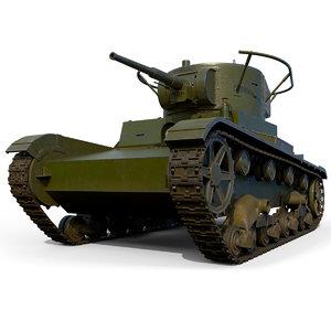 3D tank t-26rt