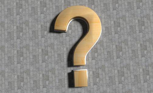 question mark bench 3D model