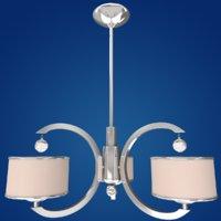 3D chandelier lamps model