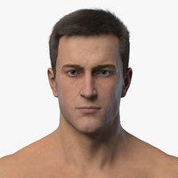 3D Model Realistic Male Jack